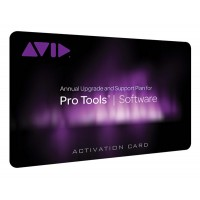 Avid Standard Support for Pro Tools Student Activation Card